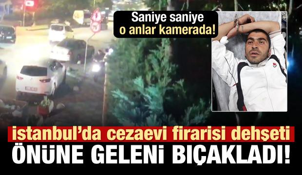 Kadıköy'deki firari dehşetinin görüntüleri!