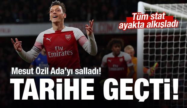 Mesut Özil tarihe geçti!