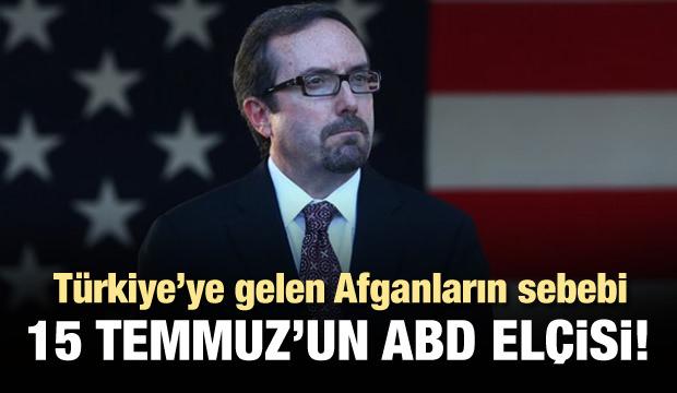 Afganların Türkiye'ye gelmesinin sebebi: John Bass