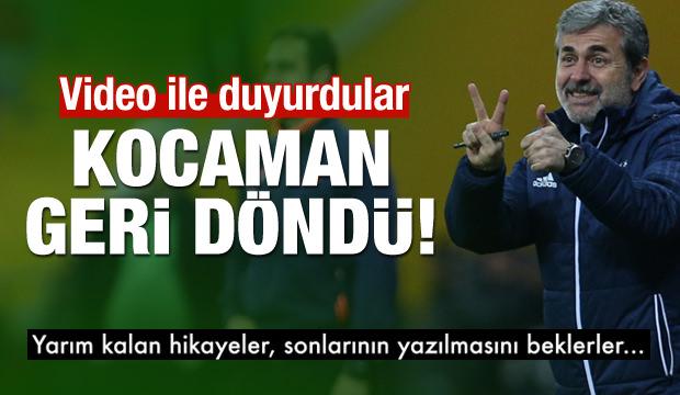 Aykut Kocaman'ı böyle duyurdular