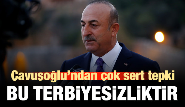 Çavuşoğlu'ndan sert açıklama: Bu terbiyesizliktir