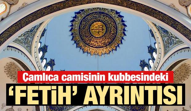 Dünyanın en büyüğü: Çamlıca Cami