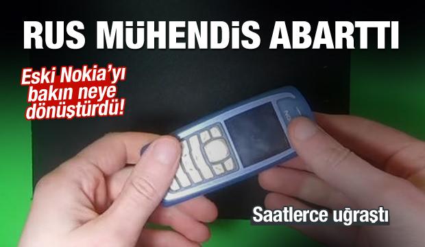 Eski Nokia telefonu bakın neye dönüştürdü!