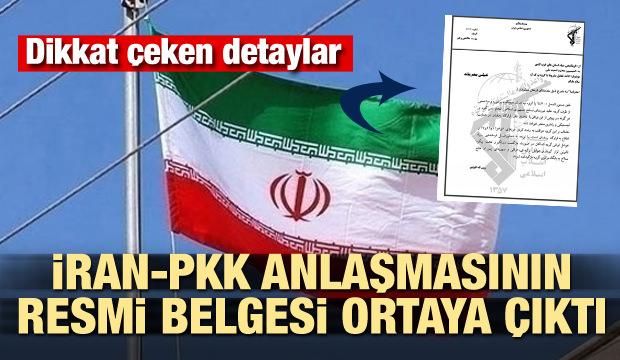 İran-PKK anlaşmasının resmi belgesi ortaya çıktı