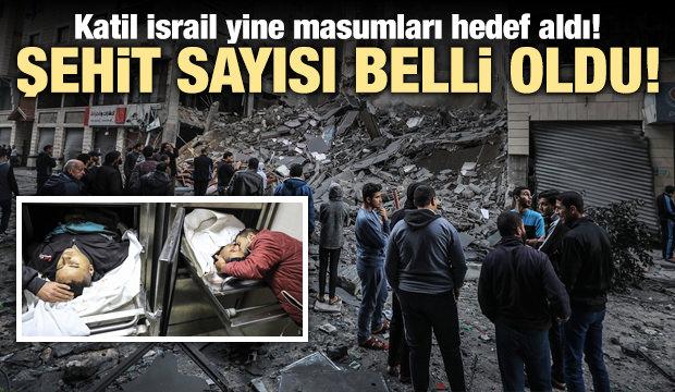 İsrail Gazze'yi bombaladı: 6 şehit