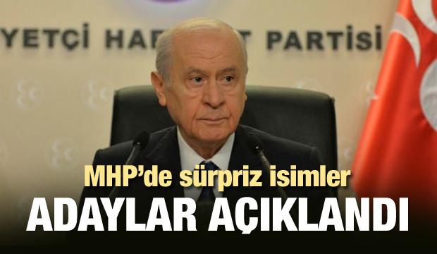 MHP'de sıcak saatler! Adaylar açıklandı