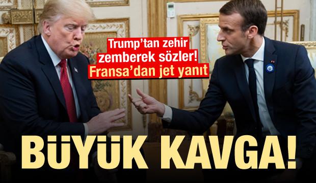 Trump'tan zehir zemberek sözler! Büyük kavga