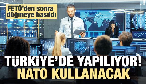 Türkiye yapıyor! NATO'da kullanılacak