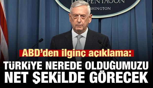 ABD'den Türkiye ve Suriye açıklaması