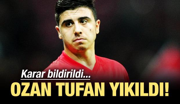 Ozan Tufan'ı yıkan karar!