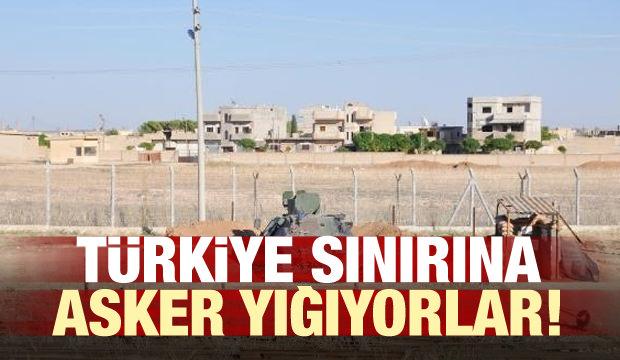 Türkiye sınırına asker yığmaya başladılar!