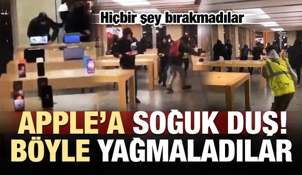 Apple'a soğuk duş! Böyle yağmaladılar...
