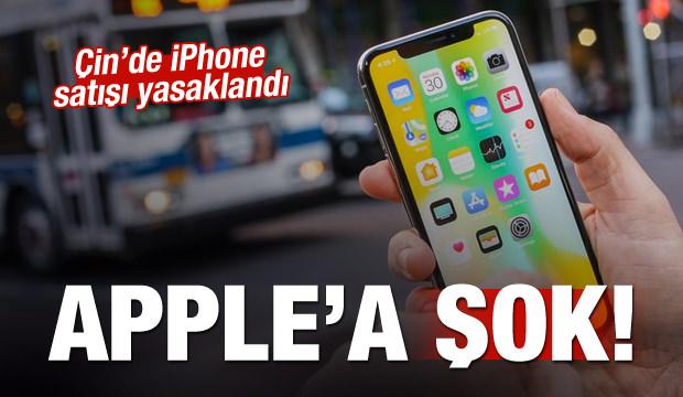 Çin'den Apple'a büyük şok! Satışı yasaklandı