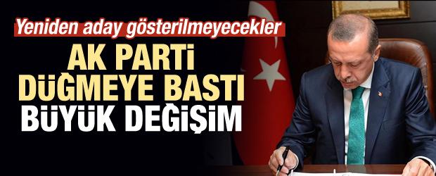 AK Parti'de değişim sırası ilçelerde! Aday gösterilmeyecekler…