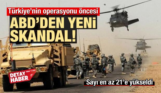 Fırat'ın doğusuna operasyon öncesi ABD'den skandal