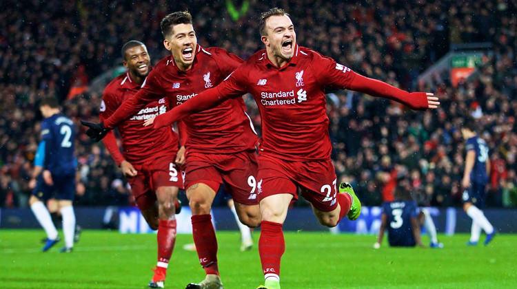 Liverpool ManU engelini rahat aştı!