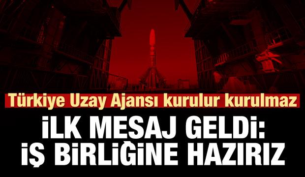 Muhin: Türkiye ile uzayda işbirliğine hazırız