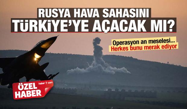 Rusya hava sahasını Türkiye'ye açacak mı?