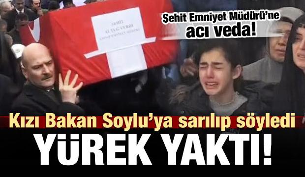 Şehit Emniyet Müdürü Altuğ Verdi'ye acı veda!