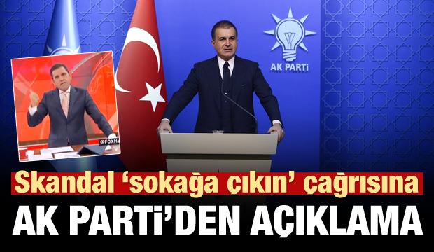 Skandal çağrı için ilgili AK Parti'den açıklama!