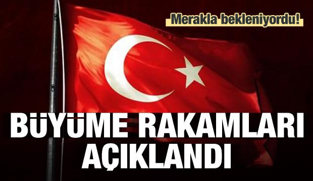 Türkiye'nin büyüme rakamları açıklandı!