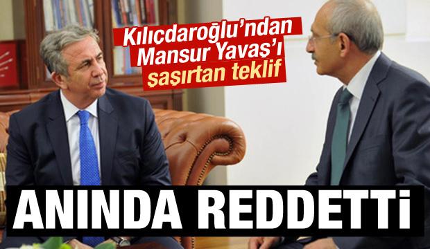 Yavaş Kılıçdaroğlu'nun teklifini reddetti