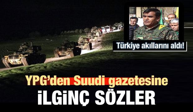 YPG'den Suudi gazetesine ilginç sözler