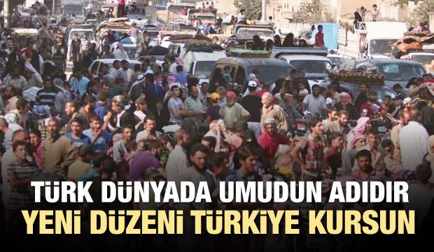 Tüm umutları Türk askerinin gelmesi