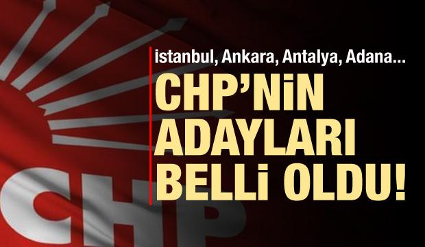 CHP'nin İstanbul ve Ankara adayı belli oldu!
