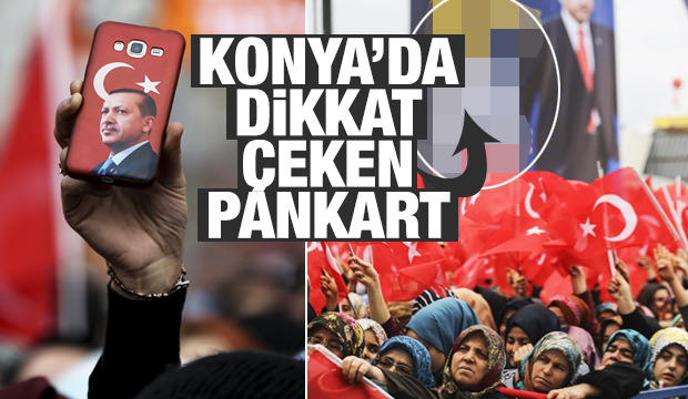 Erdoğan Konya'da! Dikkat çeken anlar...