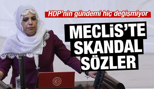 HDP'li Remziye Tosun terörist cenazelerini istedi