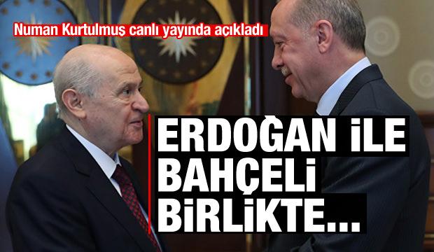 Kurtulmuş açıkladı: Erdoğan ve Bahçeli birlikte...