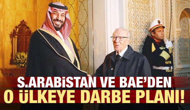 S. Arabistan ve BAE'den Tunus'a darbe planı