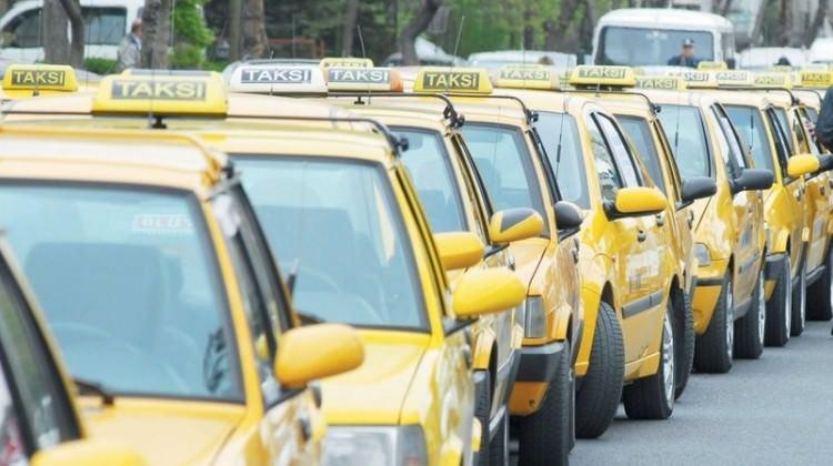 Taksiciler için standart talebi
