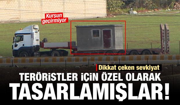 Teröristlere özel hazırlandı: TIR'lar peş peşe