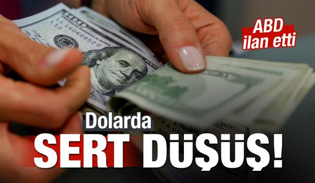 Trump'ın mesajı ardından dolar/TL sert düştü