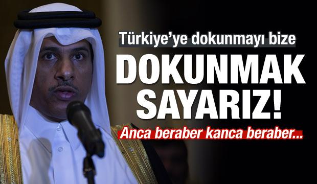Türkiye'ye destek! Anca beraber kanca beraber...