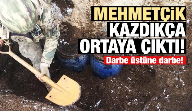 Van'da PKK'nın cephaneliği ele geçirildi!