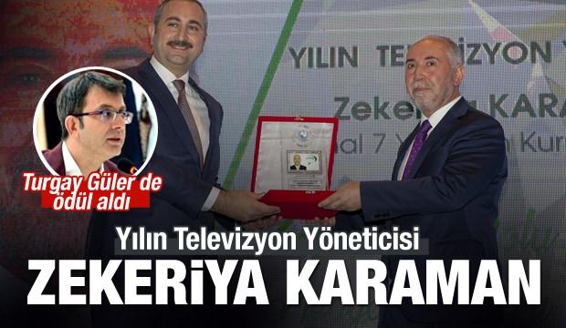 Zekeriya Karaman ve Turgay Güler'e ödül