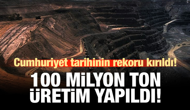 Albayrak: 100 milyon ton ürettik, hedef tutturuldu
