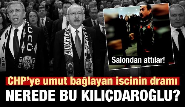 CHP'li işçiden Kılıçdaroğlu'na: Hani 2200?