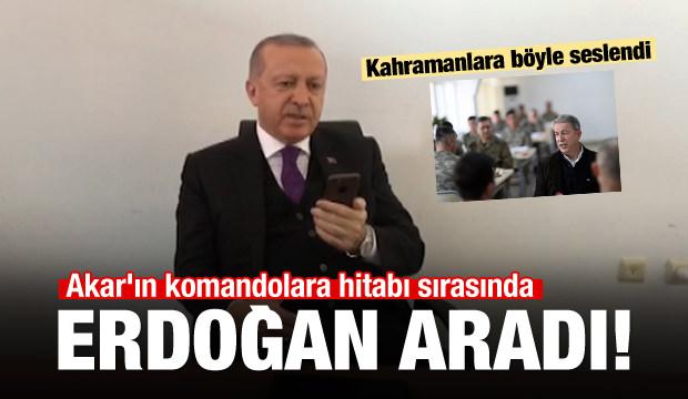 Erdoğan, Zeytin Dalı Harekatına katılan askerlere seslendi