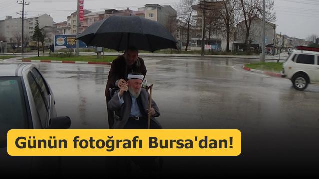 Günün fotoğrafı Bursa'dan!