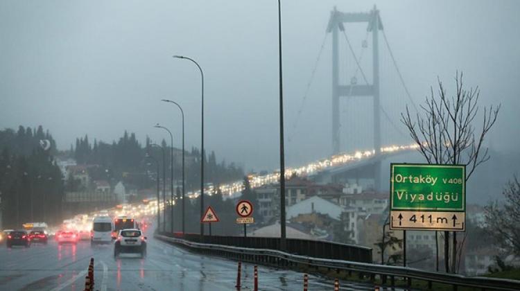 Köprülerden geçecek araçlara videolu rota