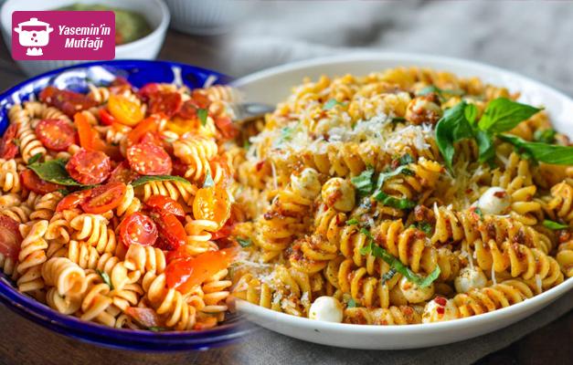 Nefis domatesli makarna nasıl yapılır?