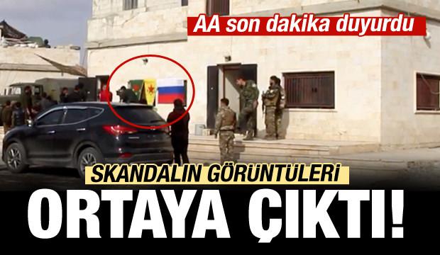 Ruslar ve YPG ortak devriyede!