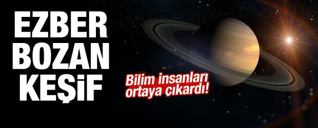 Satürn'le ilgili ezber bozan gelişme!