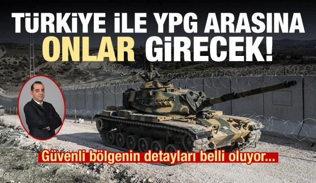 'Türkiye ile YPG'nin arasına onlar girecek'