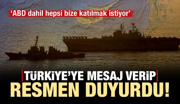 Türkiye'ye mesaj verip açıkladı: ABD bize katılmak istiyor