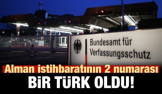 Alman istihbaratının 2 numarası bir Türk oldu!